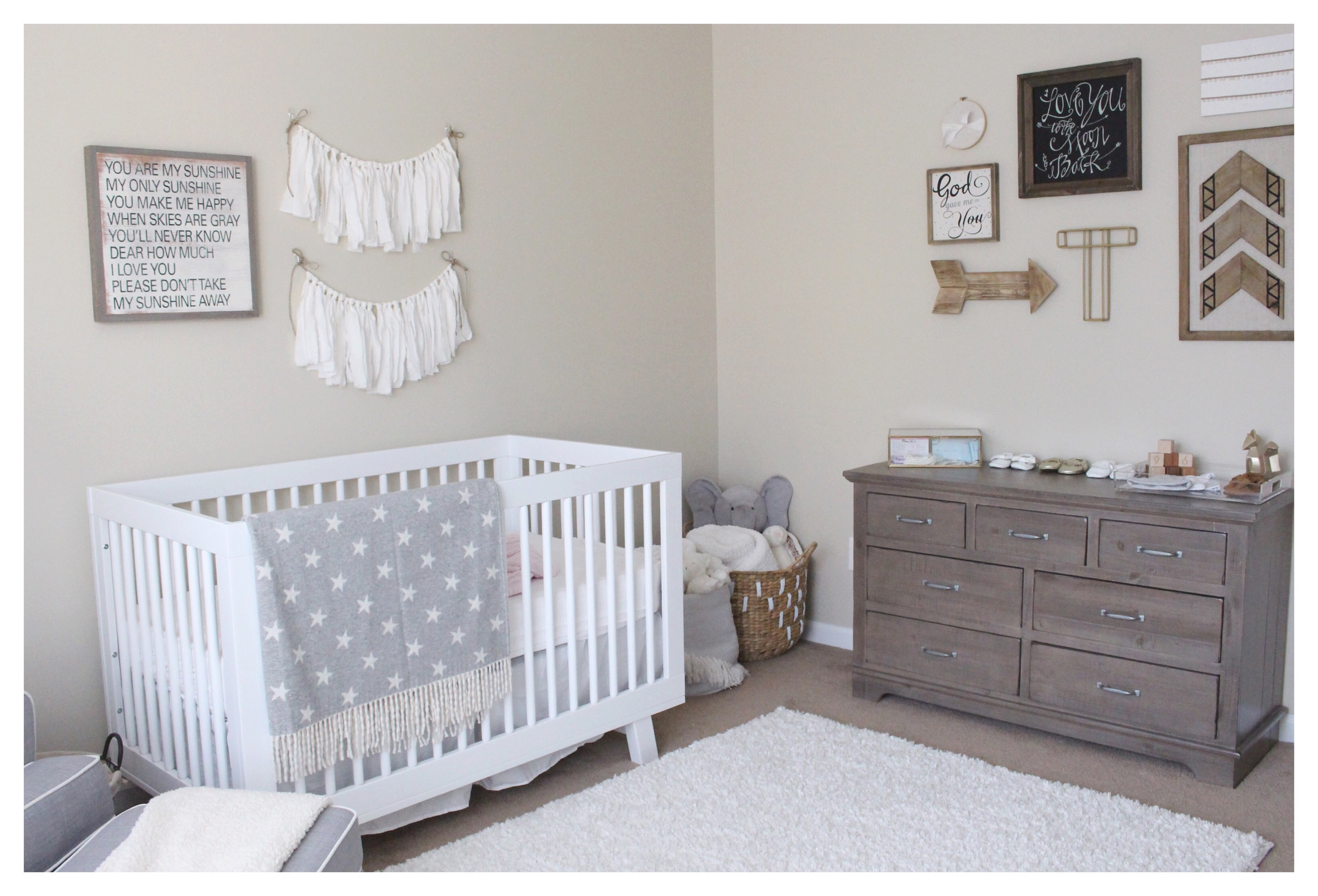 I searched high and low for this dresser I originally wanted the Hemnes  Dresser in gray. Hemnes Dresser Nursery