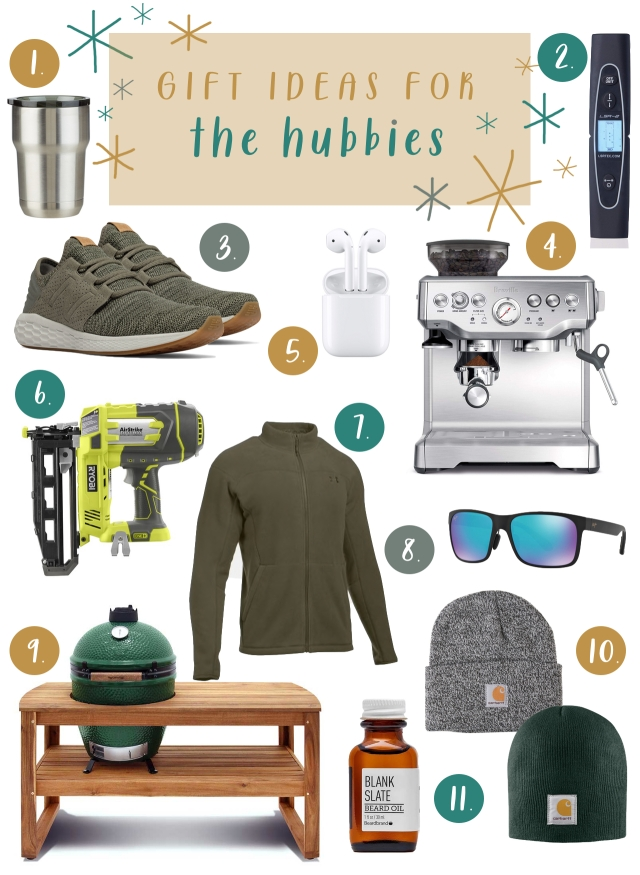 hubbie gift guide